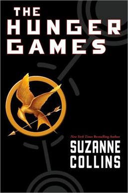 """The Hunger Games"" book cover"