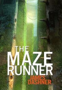 """The Maze Runner"" book cover"