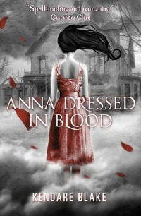 """Anna Dressed in Blood"" book cover"