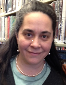 Photograph of Michelle Morales, Assistant for Circulation and I.L.L.